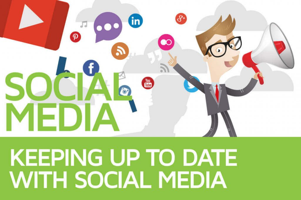 Keep up with Social Media account