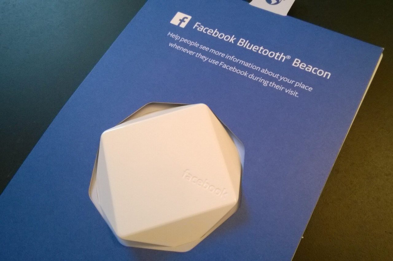 Facebook Bluetooth Beacon
