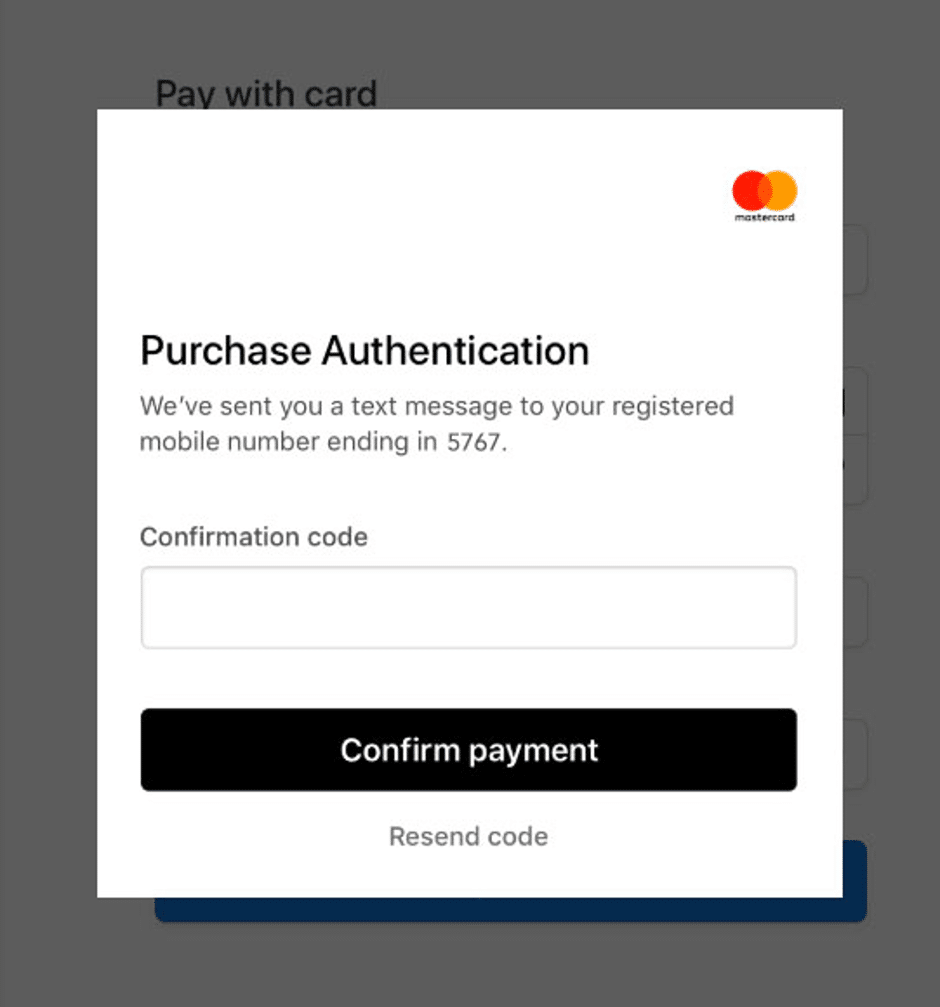 3D-secure-authorization-screen-for-confirmation-code