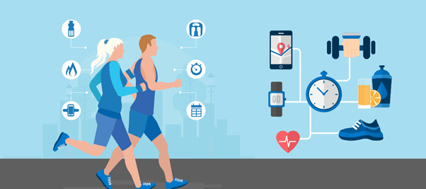 IoT app in field of sports and fitness