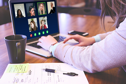 video-conferencing image