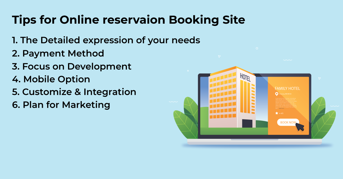 Tips-for-Online-Reservation-booking-site