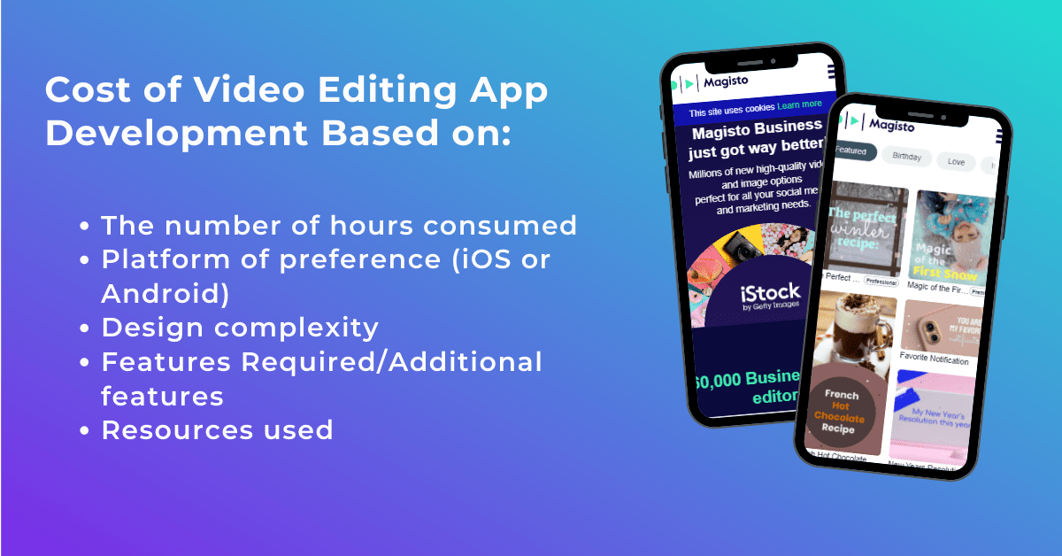 Cost to Develop Video Editing App Development, Mobile App Solutions