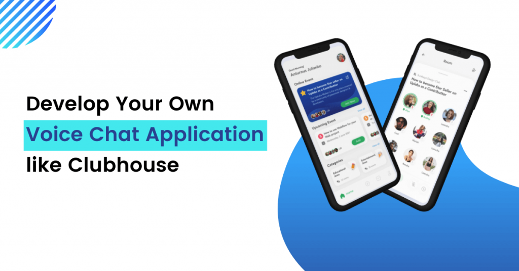 Voice Chat application like Clubhouse